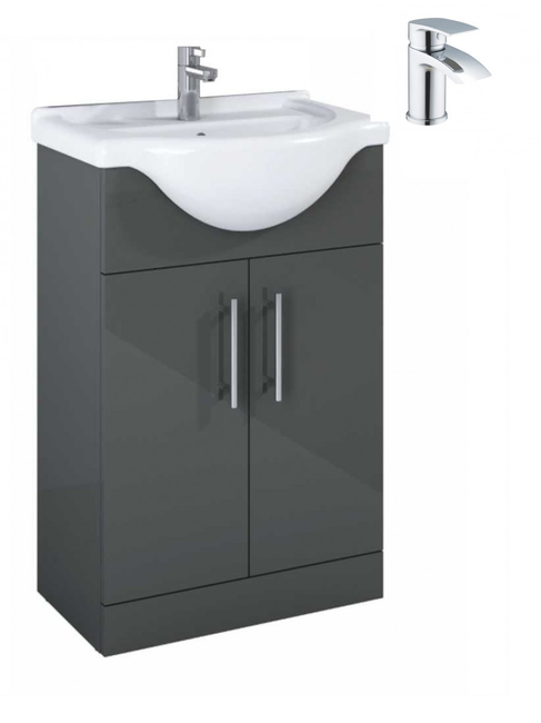 Sonas Belmont Gloss Grey 55 Pack-Corby - *Special Offer