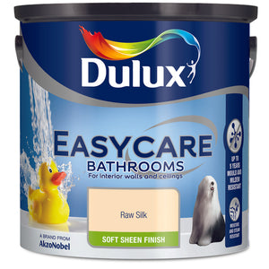 Dulux Easycare Bathrooms Raw Silk 2.5L