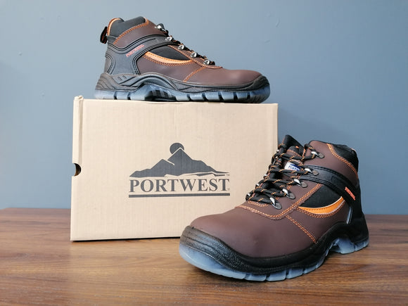 PORTWEST STEELLITE MUSTANG HIKER BOOT (6 sizes available)