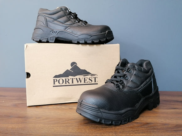 PORTWEST PROTECTOR  BOOT BLACK (6 sizes available)