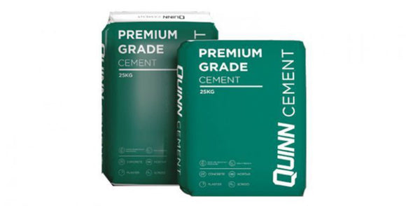 Quinn Cement 25kg Plastic Bag