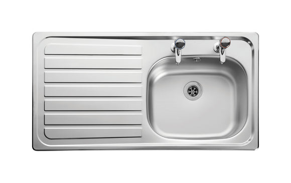 Sink [Inset] 950 X508 L/Hand Dr Sb/Sd (Inc Waste)