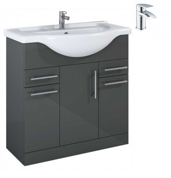 Sonas Belmont Gloss Grey 85 Pack-Corby - *Special Offer