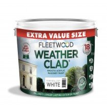 Fleetwood Weatherclad White 9L + 1L free