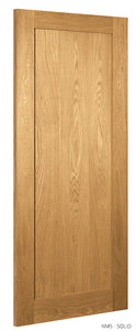 "DEANTA NM5 OAK SHAKER DOOR 6'8"" X 2'8"""