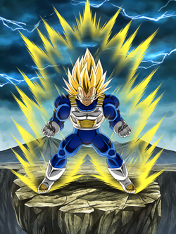 Dragon Ball Z - Super Vegeta