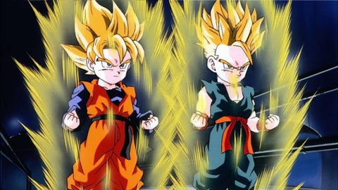 Goten et Trunks Super Saiyan - DBZ