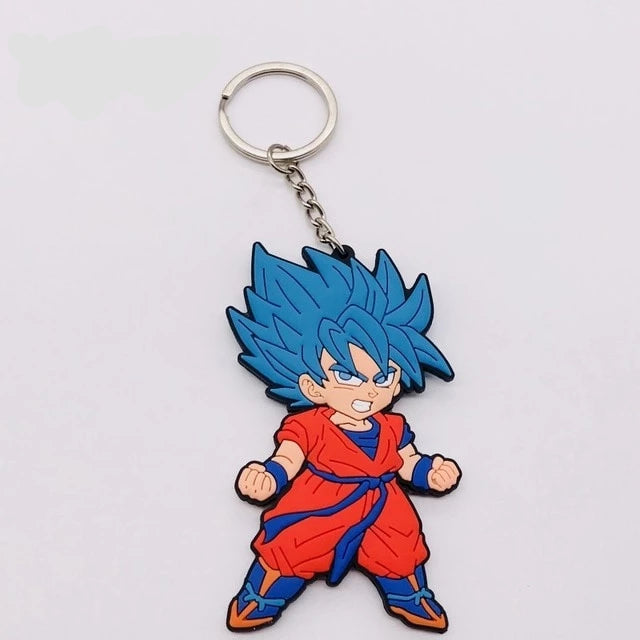 Porte-clés Dragon Ball : Goku Super Saiyan Blue