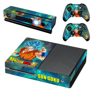 Skin Xbox One Goku SSJ Blue Dragon Ball Super