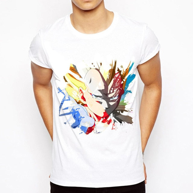 T-Shirt Vegeta SSJ Dragon Ball Z