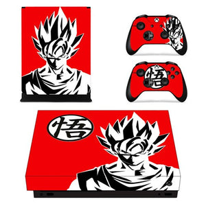 Skin Xbox One X Goku Dragon Ball