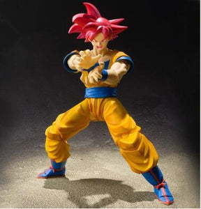 Figurine Articulée Goku Super Saiyan God Kamehameha Dragon Ball Super