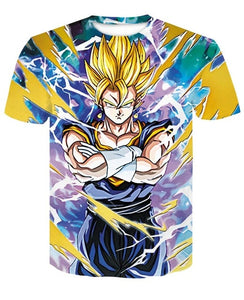 T-Shirt Vegetto SSJ croise les bras Dragon Ball Z