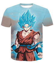 T-Shirt Goku SSJ Blue Dragon Ball