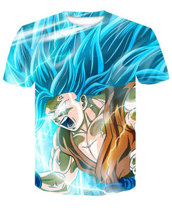 T-Shirt Goku SSJ 3 Dragon Ball Super