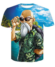 T-Shirt Tortue Géniale Île Kamé House Dragon Ball