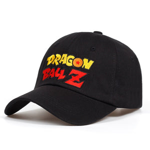 Casquette Logo Dragon Ball Z Noir Travers