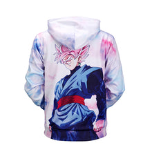 Sweat Vegetto Super Saiyan Blue Black Goku Super Saiyan Rose DBS