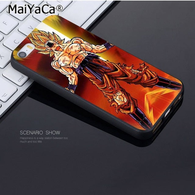 Coque Iphone Goku SSJ Blessé Ki Dragon Ball
