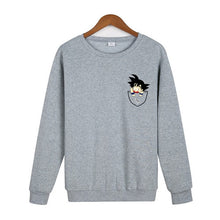 Pull Dragon Ball Goku Gris