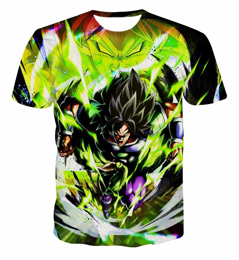 T-Shirt Dragon Ball Super Broly Le Film
