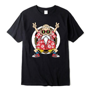 T-Shirt Dragon Ball Tortue Géniale Noir