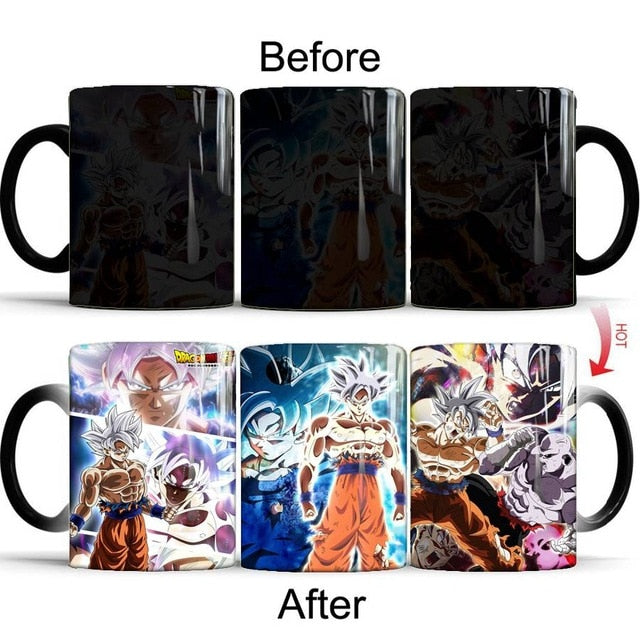 Mug Thermoréactif Dragon Ball : Goku Ultra Instinct Maîtrisé