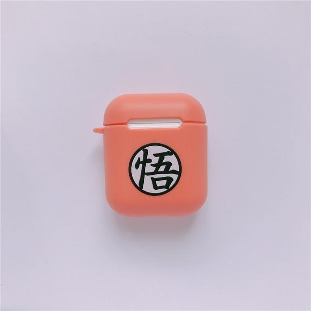 Coque Airpods Dragon Ball : Logo Goku