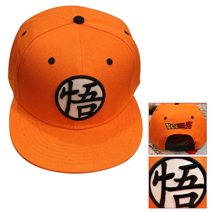 Casquette Logo Son Goku Style US Orange Dragon Ball Z