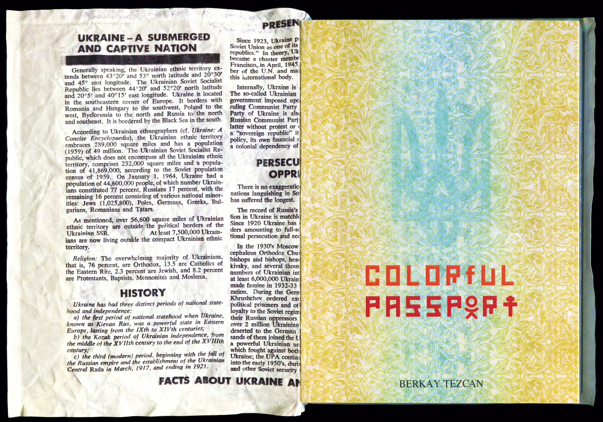 Colorful Passport