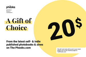 The best gift for a photographer — a gift card for unique photobooks and photozines