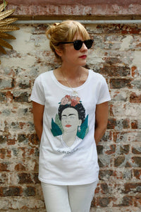 I MISS FRIDA KAHLO Women Tee (slim fit)