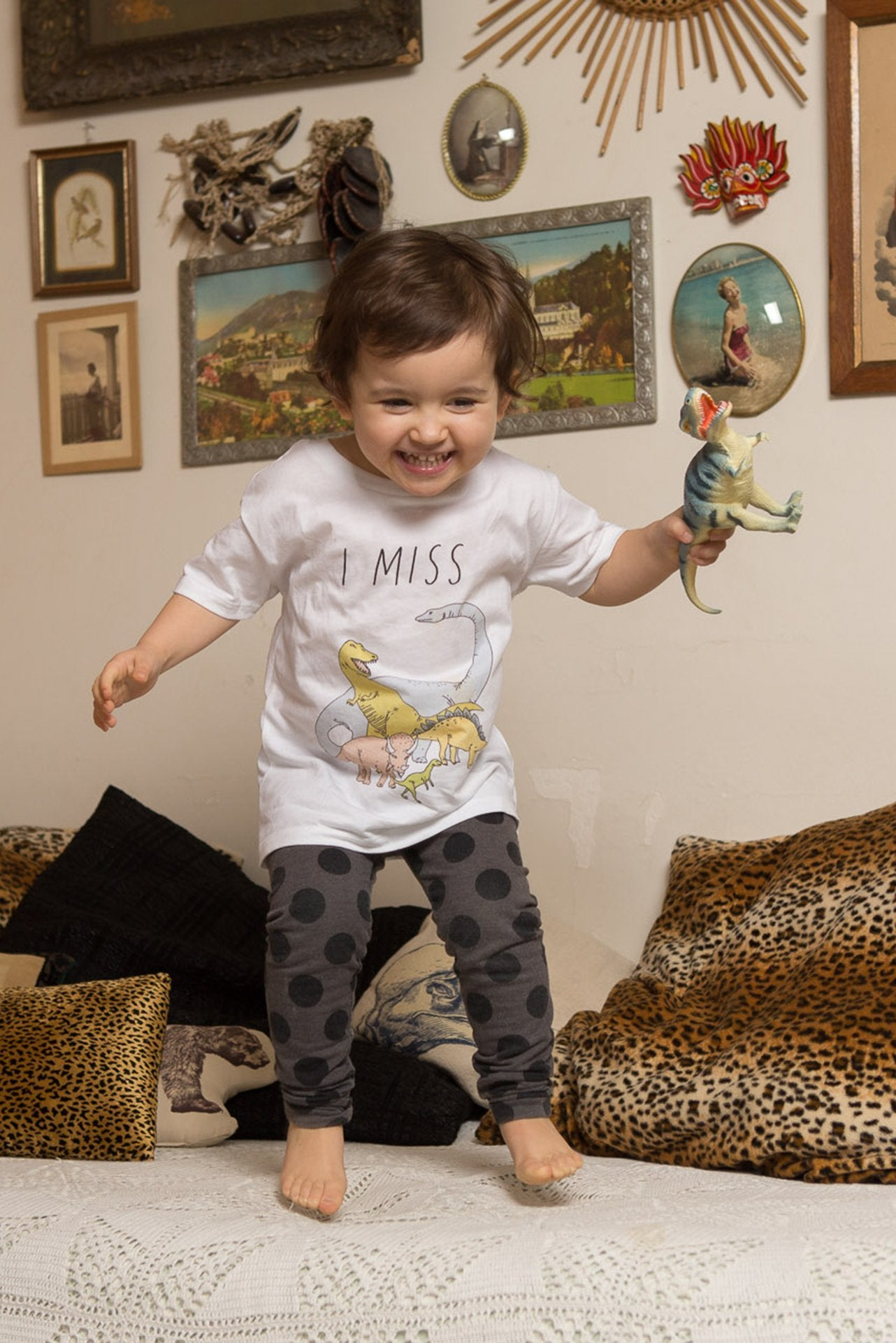 I MISS DINOSAURS Kids T-Shirt