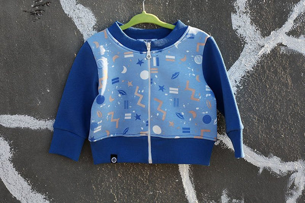 Copy of Sweatshirt with zipper - Pattern D