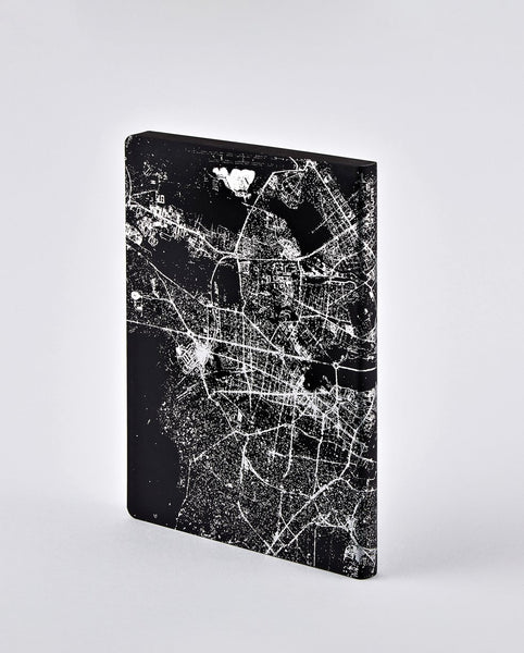 Nightflight Berlin Silver Notebook