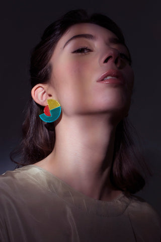 Sunset 3D-printed Earring