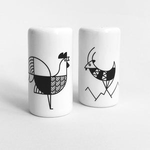 Animalia Salt and Pepper Set