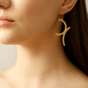 Curves Earrings Small
