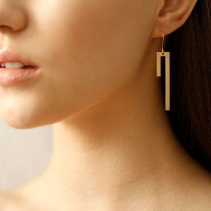 Linear Earrings Small