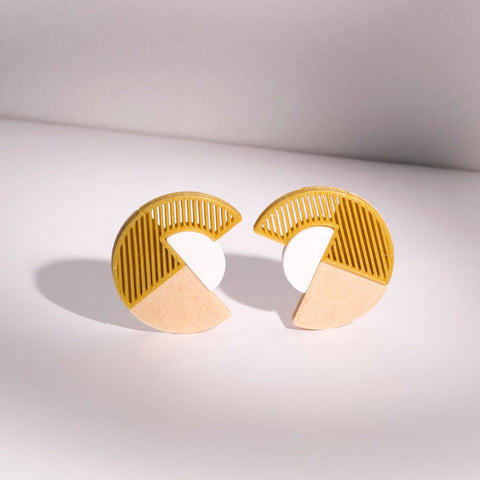 Sailboat 3D-printed Earring