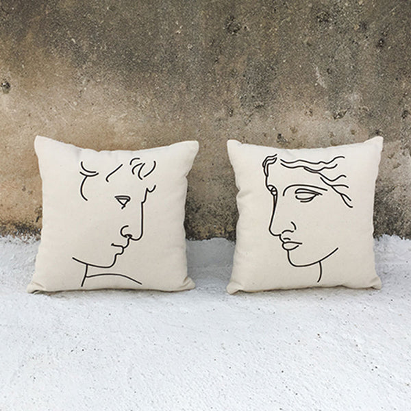 Kallos Square Cushion Cover