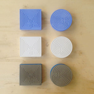 Labyrinth Square Press Papier