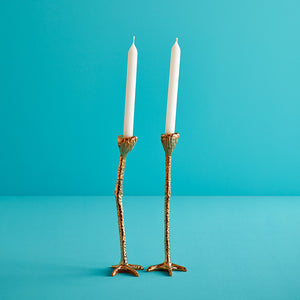 Long Legs Candlestick Holders (set of 2)