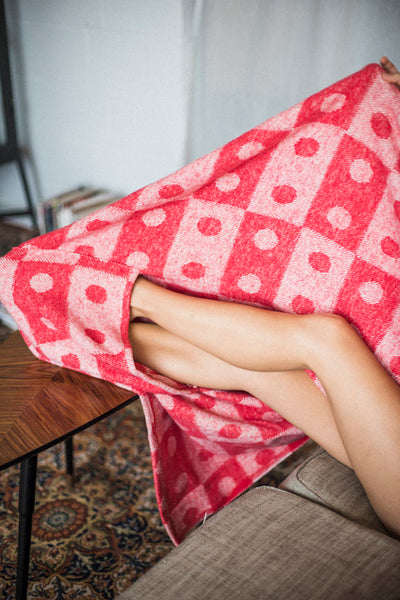 Feet Cushion Blanket / Throw