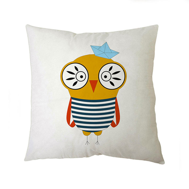 Sailor Owl Small Cushion