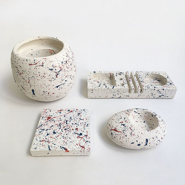 Speckled Desk Organizer