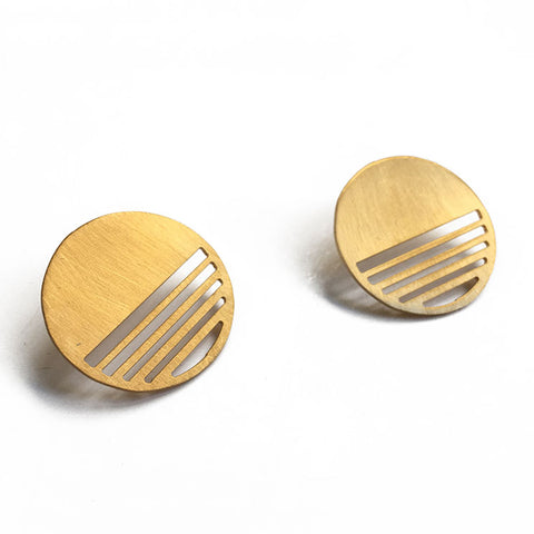 Sunset Stud Earrings 02