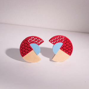 Swoon 3D-printed Earring