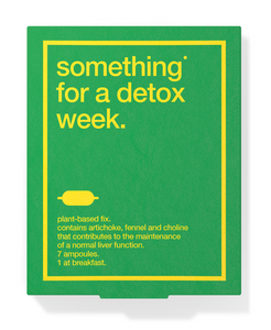 Something for a detox week / Detox