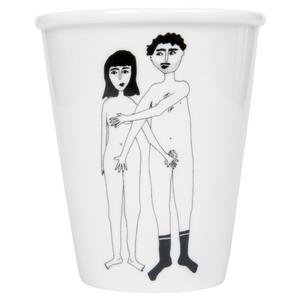 Soon back in stock - Naked Couple cup